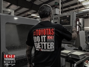 NEW LC Engineering #TOYOTASDOITBETTER T-Shirt - Large
