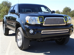 T-REX Polished SS Upper Class Mesh Side Vents For 2011 Tacoma