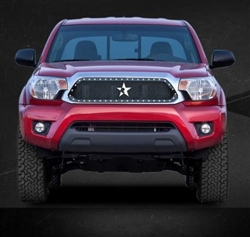 RBP RX Series Studded Frame-main Tacoma Grille (Black) 2012-2014