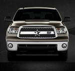 RBP RX-3 Series Studded Frame-main Tundra Grille (Black & Chrome) 2010-2013 (Except Limited)