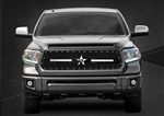 RBP RX-3 LED S-Series Studded Frame-main Tundra Grille (Black) 2014-2015 (Except Limited)