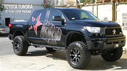 RBP RX-1 2-Rung Black Tube Steps For 2007-2014 Tundra Double Cab SB