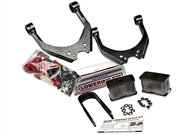 "DJM Complete Lowering Kit 3"" Front & 4"" Rear For 1995.5-2004 Tacoma (Steel Rear Blocks)"