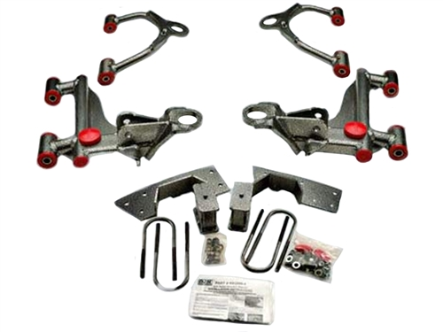 "DJM Calmax Lowering 3"" Upper & Lower Control Arms For 2005-2014 Tacoma"