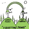 Forgetting Things by Kepi Ghoulie & Forest Pooky Clear Vinyl 12""