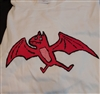 RARE Kepi Ghoulie Red Bat T-shirt  Youth Large