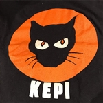 The Original Black Cat by Kepi T-shirt
