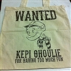 WANTED Kepi Ghoulie For Having Too Much Fun - Tote Bag