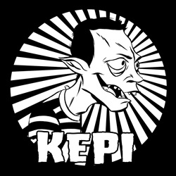 Kepi Zombie Sticker
