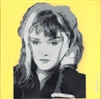 Exene by Lucy Giles 10x10 Canvas Painting