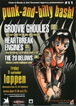 Groovie Ghoulies Punk-n-Billy Bash Poster
