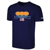 Cotton Tee Shirt with Covid-19 EMS & Flag Logo