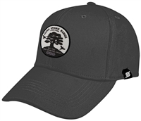 Baseball Cap with B&W Circle Clove Spring at MNL Farm Logo