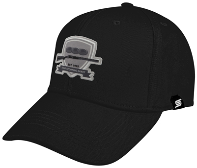 Baseball Cap with B&W Shield Logo