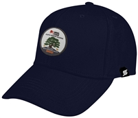 Baseball Cap with Color Combo MNL Farm/Clove Spring at MNL Farm Logo