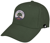 Baseball Cap with Color Circle Clove Spring at MNL Farm Logo