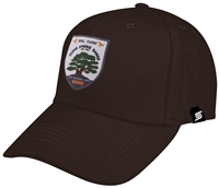 Baseball Cap with Color Badge Clove Spring at MNL Farm Logo
