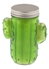 12 Oz Cactus Shaped Glass Candle - Prickly Pear Cactus