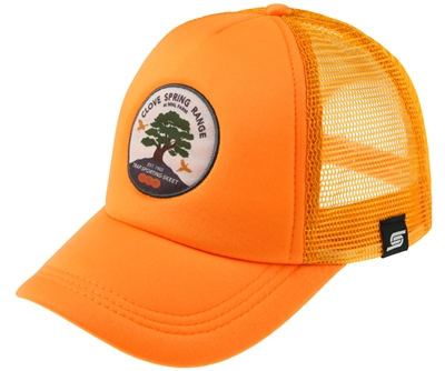 Trucker Hat with Color Circle Clove Spring Range Logo