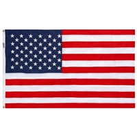 6' x 10' Nylon Embroidered Flag, No Box - Made in USA