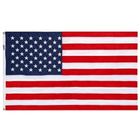 3' x 5' Embroidered Textile Flag - Made in USA