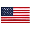 5' x 9.5' Cotton Casket Flag, In Box - Made in USA