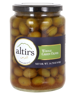 Whole Green Olives 24 oz