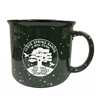 Campfire Ceramic Mug - Green - 15 Oz