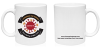 Ceramic Mug with Covid-19 Honoring the Heroes Logo