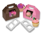 Windowed Gable Boxes And Cupcake Inserts