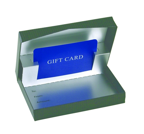 Gift Card Presentation Boxes Presentation Pop-up Gift Card