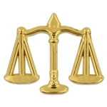 SCALES JUSTICE PIN