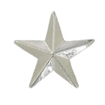SMALL SILVER STAR PIN