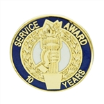 10 YEAR TORCH AWARD PIN