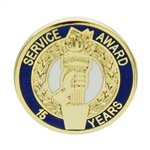 15 YEAR TORCH AWARD PIN