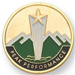 PEAK PERFORMANCE PIN
