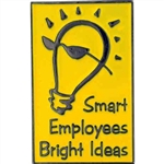 BRIGHT IDEAS PIN