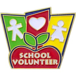 SCHOOL VOLUNTEER PIN