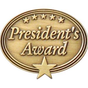 President S Award Pin