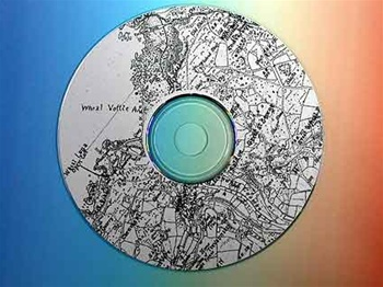 HAMILTON JENKIN ANNOTATED MAPS ON CD-ROM