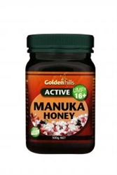 Golden Hills Manuka Honey 16+ 500g