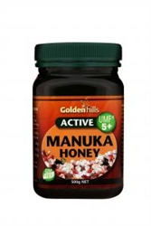 Golden Hills Manuka Honey 5+ 500g