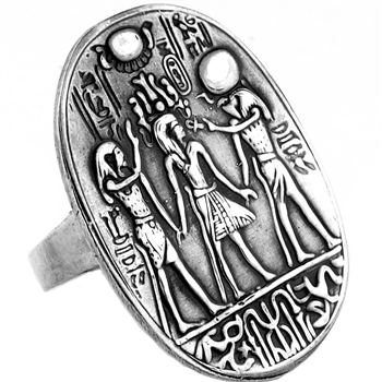 Crowning of King Tut Ring - Large