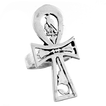 Horus Ankh Ring - Medium