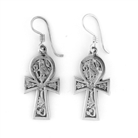 Horus Ankh Earrings - Small