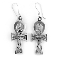 Horus Ankh Earrings - Medium
