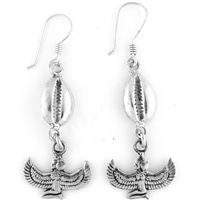 Winged Isis Earrings