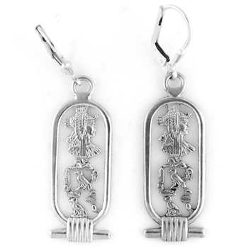 Cleopatra Cartouche Earrings