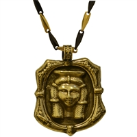 Bronze Ma'at Hieroglyphic Pendant | Egyptian Jewelry