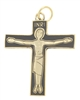 Gold Tone with Soft Enamel Cursillo / Via de Cristo Cross, Stamped